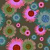Vektor Cliparts: floral nahtloser Hintergrund