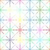Vektor Cliparts: nahtlose Sterne Hintergrund