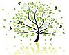 Векторный клипарт: дерево