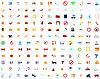 Векторный клипарт: крупнейших коллекция иконок