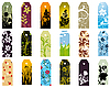 Vector clipart: bookmarks set