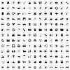 Векторный клипарт: 170 иконок