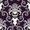 Vector clipart: seamless damask background