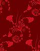 Векторный клипарт: Цветочный бесшовный фон
