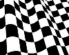 Векторный клипарт: гоночный флаг