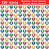 Векторный клипарт: 120 иконок