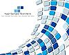 Векторный клипарт: 3d мозаичный фон