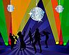 Векторный клипарт: Ночной клуб танцоров