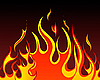 Векторный клипарт: огонь