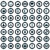 Векторный клипарт: набор веб-иконок