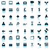 Web icons set | Ilustración vectorial