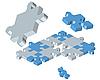 Vektor Cliparts: Puzzle-Hintergrund