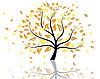 Vektor Cliparts: Herbstbaum