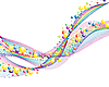Vector clipart: colourful lines