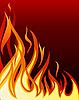 Vektor Cliparts: Feuer-Hintergrund