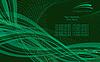Vector clipart: techno pattern