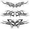 Vector clipart: tattoos set