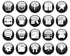 Business and office icons set | Stock Vector Graphics