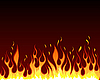 Vector clipart: fire background