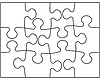Vector clipart: Puzzle