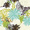 Nahtloser floraler Hintergrund   Stock Vektrografik