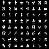 Vector clipart: icons set