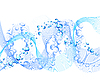 Vector clipart: water background