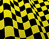 Vector clipart: checkered flags