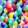 Vector clipart: seamless balloons