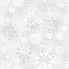Векторный клипарт: бесшовный фон снежинки