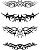 Vector clipart: tattoos set