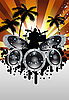 Vector clipart: rock group