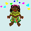 Vector clipart: Papuan