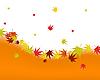 Векторный клипарт: осенние листья