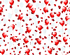 Vector clipart: balloons on hearts