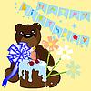 Векторный клипарт: День Рождения