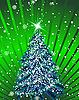 Tarjeta de Navidad | Ilustración vectorial