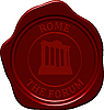 Vector clipart: forum sealing wax