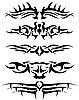 Векторный клипарт: татуировки набор