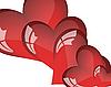 세인트 발렌타인 카드   Stock Vector Graphics