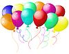 Vector clipart: balloons