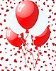 ID 3213417 | Balloons on hearts | Stock Vector Graphics | CLIPARTO