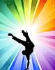 Векторный клипарт: Тормозные танцор