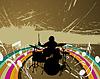 Векторный клипарт: барабанщик из рок-группы