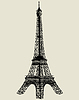 Vector clipart: Eiffel tower