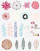 Векторный клипарт: набор цветов