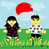 Векторный клипарт: Счастливые дети