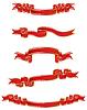 Векторный клипарт: ленты набор