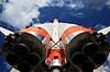 Space transport rocket | Stock Foto