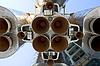 俄罗斯空间运输火箭发动机 | 免版税照片
